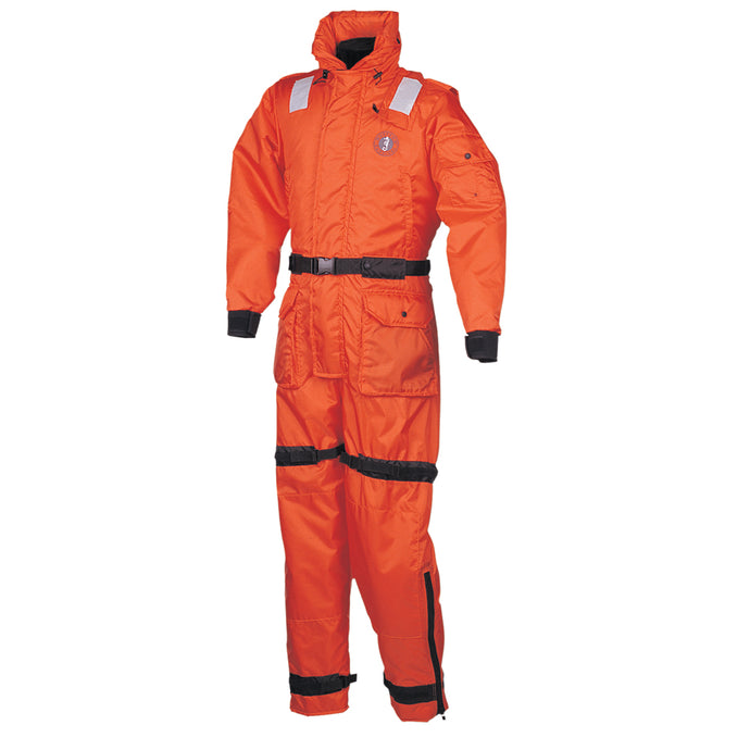 Mustang Deluxe Anti-Exposure Coverall & Worksuit - LG - Orange [MS2175-L-OR]