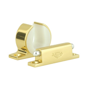 Lee's Rod and Reel Hanger Set - Penn International 80 - Bright Gold [MC0075-1080]