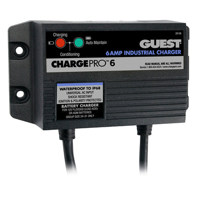 Guest 6A/12V 1 Bank 120V Input On-Board Battery Charger [28106]