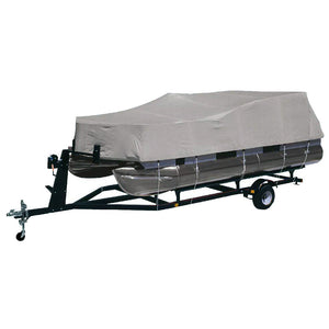 "Dallas Manufacturing Co. Heavy-Duty 300 D Polyester Pontoon Cover - Fits 17 - 20 w/Beam Width to 102"" [BC2104MENA]"