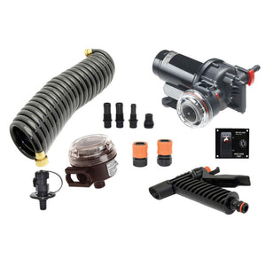 Johnson Pump Aqua Jet WD 3.5 GPM, 12V Pump Kit [JP-64535]