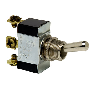 Cole Hersee Heavy Duty Toggle Switch SPDT On-Off-On 3 Screw [5586-BP]
