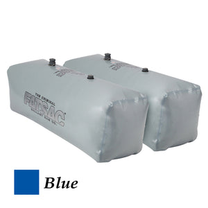 FATSAC V-drive Fat Sacs - Pair - 400lbs Each - Blue [W701-BLUE]