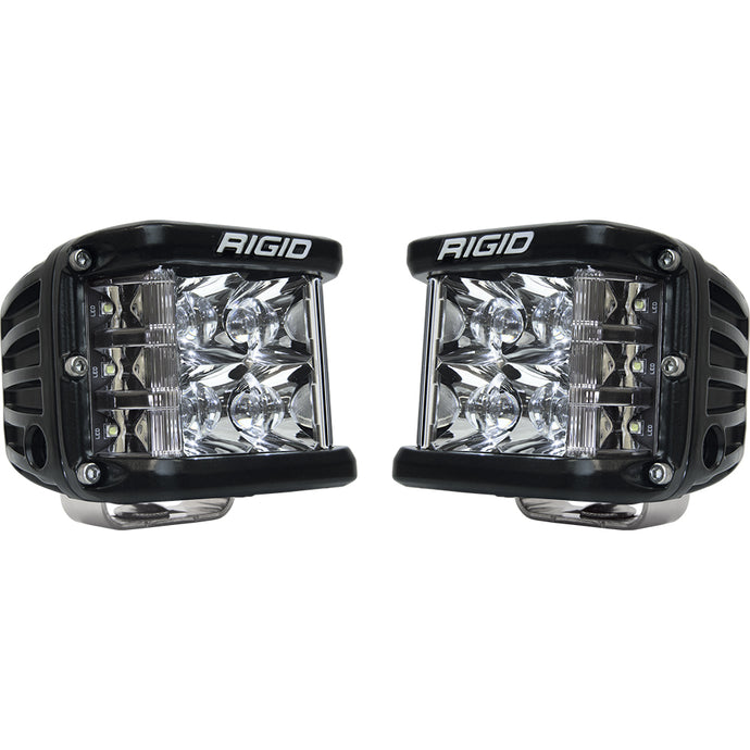 RIGID Industries D-SS Series PRO Spot Surface Mount - Pair - Black [262213]