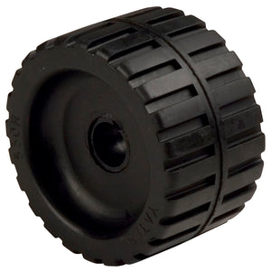 "C.E. Smith Ribbed Wobble Roller 5-7-8""ID w-Bushing Black [29535]"