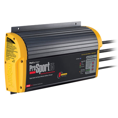 ProMariner ProSport 15 Gen 3 Heavy Duty Recreational Series On-Board Marine Battery Charger [43015]