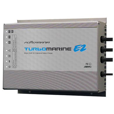 Powermania Turbo M215E2 15 Amp 2-Bank 12VDC Waterproof Charger [57205]
