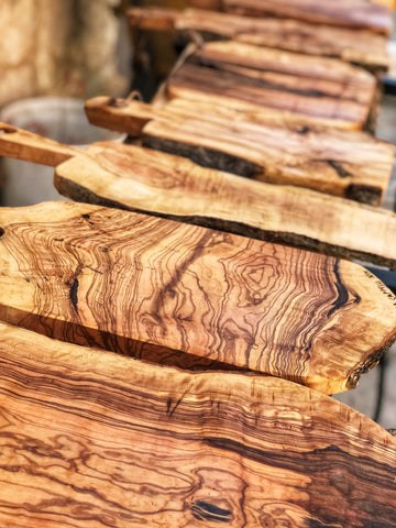 Olive Wood Charcuterie Boards