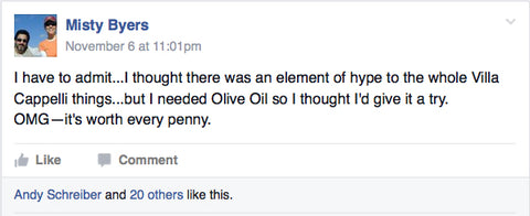 Hype extra virgin olive oil