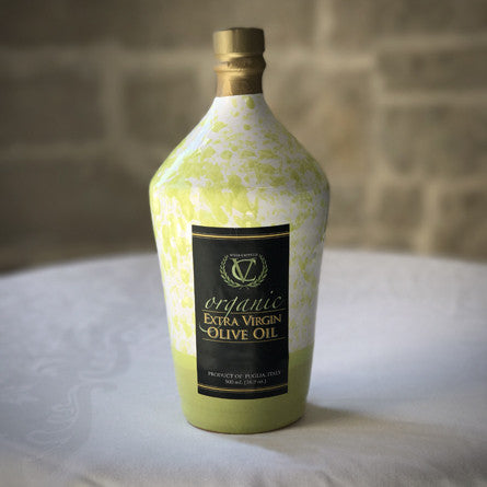 Organic Extra Virgin Olive Oil — Green Speckle Bottle