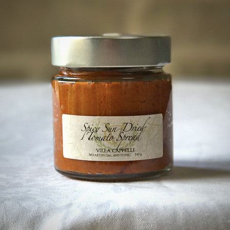 Spicy Sun-Dried Tomato Spread