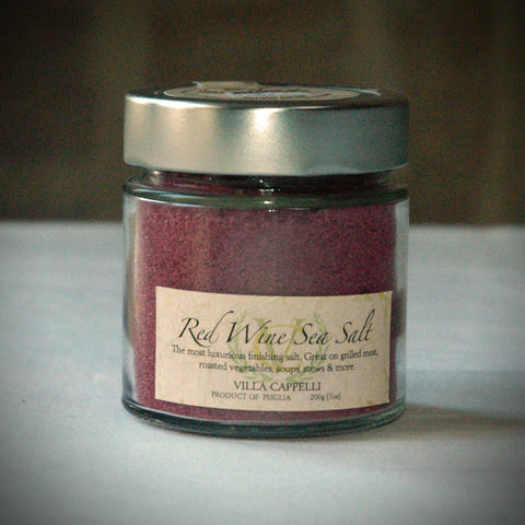 Red Wine Sea Salt - Villa Cappelli - 1