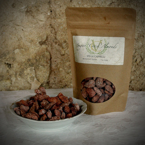 "Sugar ""Crack"" Almonds - Villa Cappelli - 1"