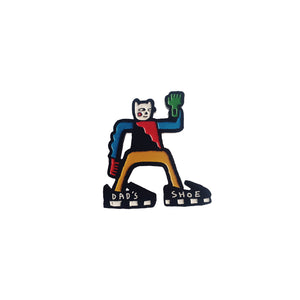 Dad Shoe Enamel Pin