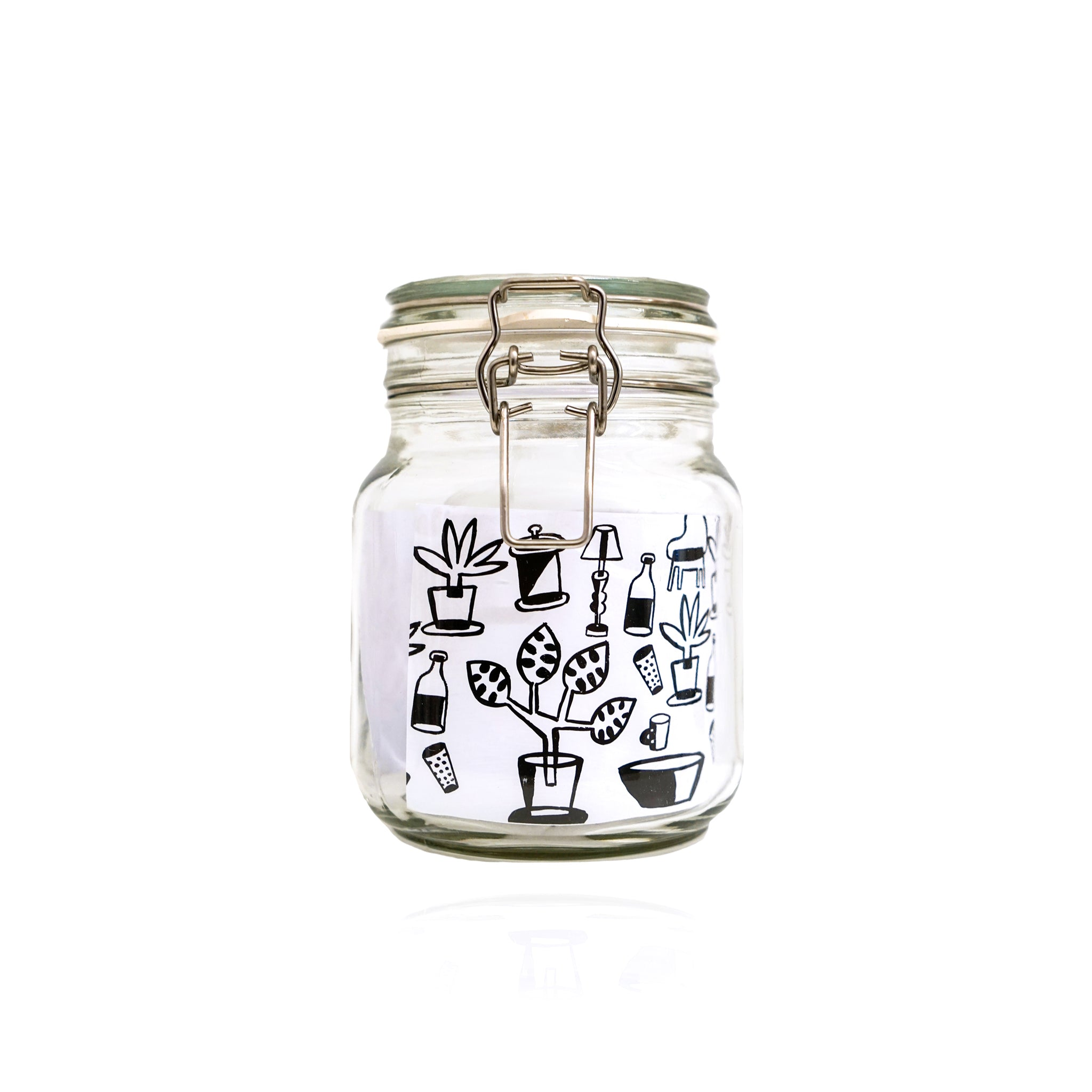 Glass Jar Abenk Alter x Art Dept ID