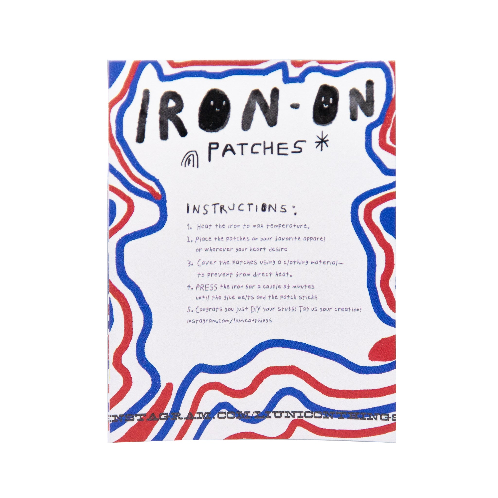 Iron on Small Patch 1