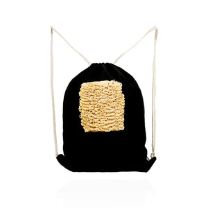 ART IS INSTANT NOODLES IS ART Drawstring Bag