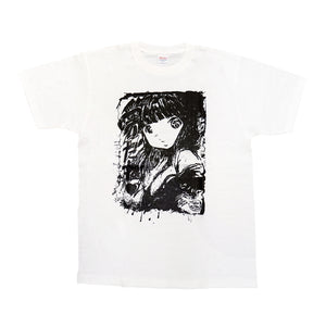 Tokoe T-Shirt in White by Kato Ai (Ai☆Madonna)