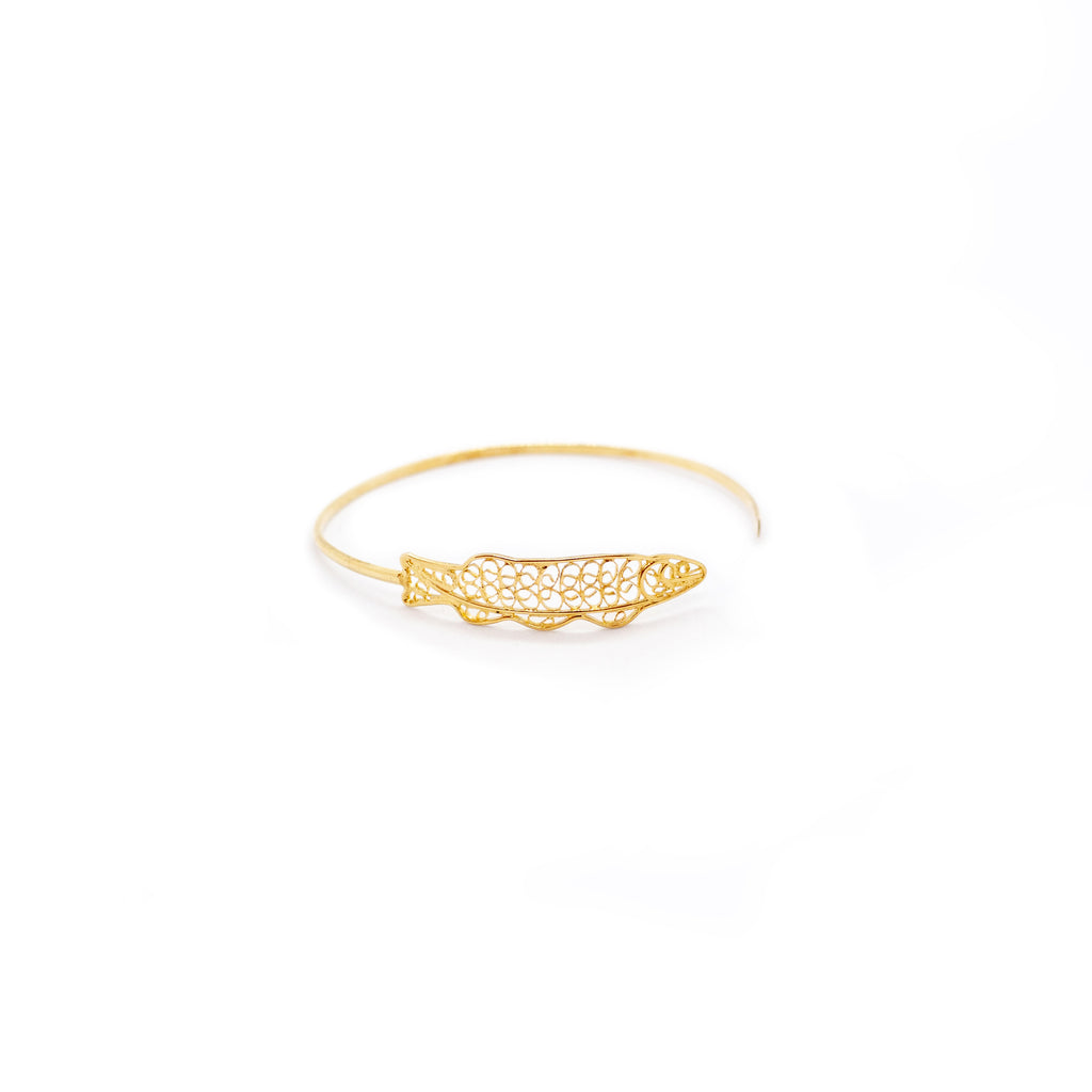 Golden Fish Winds Around Your Wrist
