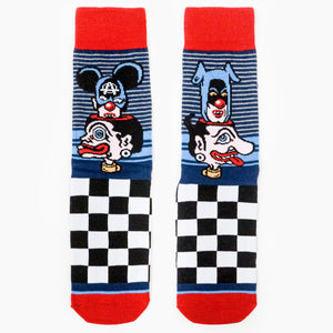 Hypecyclus Socks Blue Red