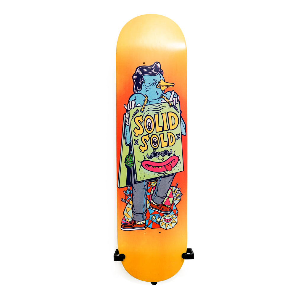 Solid Sold Skateboard Deck