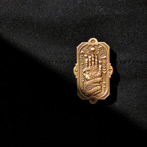 Hands of Fate Enamel Pin
