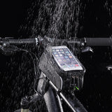 MTB Waterproof Touchscreen reveler Bike Bag 6""
