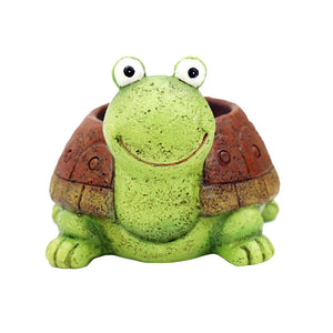Animal Shaped Cartoon Flower Pot Cute Turtle Vase Pot Home Decoration for Succulent Plants