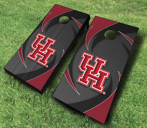 Official Housten Regulation Cornhole Set (Swoosh)
