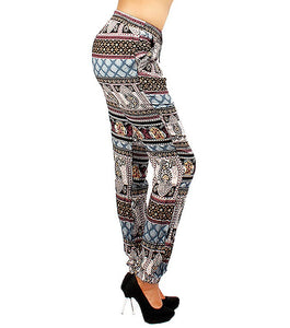 Shoshana Print Joggers Color-Multi Color
