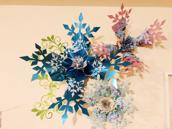 Frozen Birthday Party DIY Paper Decorations
