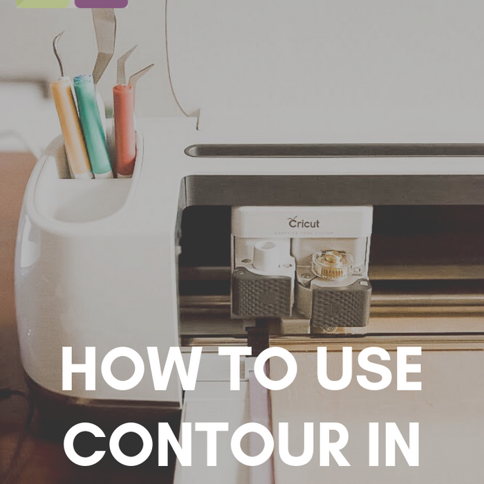 How to Use Contour Feature in Cricut Design Space