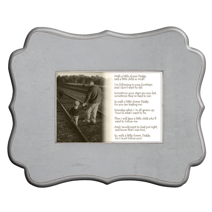 Father's Day 1-2-3 Framed Photo Gift