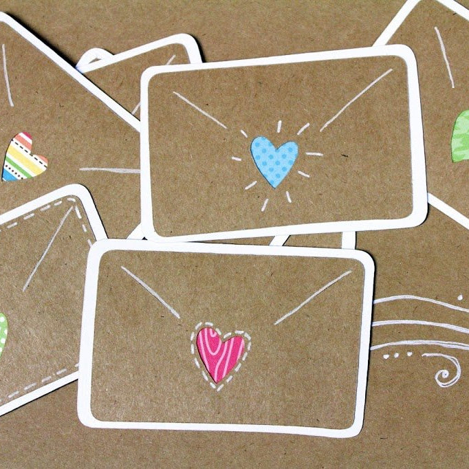 {Valentines} Crafty Handwritten Love Letters Tutorial