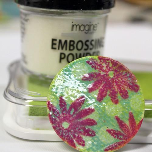 Craft Circle: DIY Gloss Embossed Embellishments.