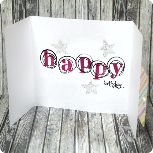 Simple Doodles & Things Birthday Card Tutorial