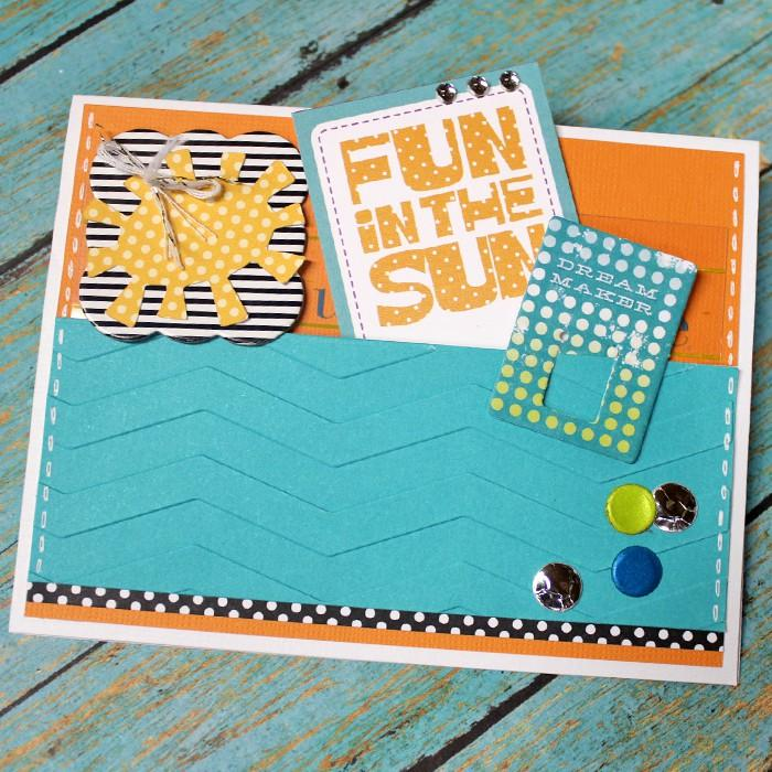 Fun In The Sun Pocket Card Tutorial