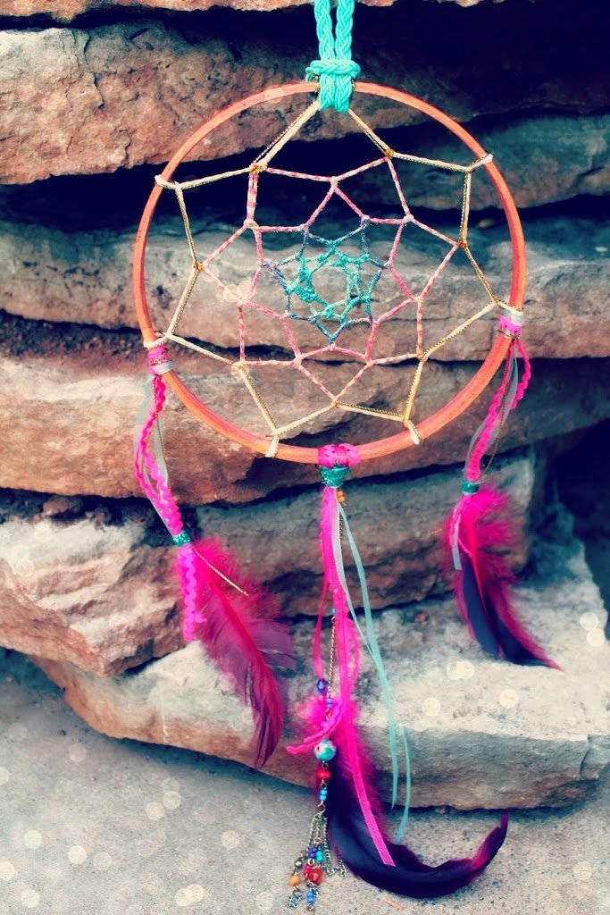 Fun For All Ages! Sweet Summer Dreams Dreamcatcher Project Tutorial: Part I