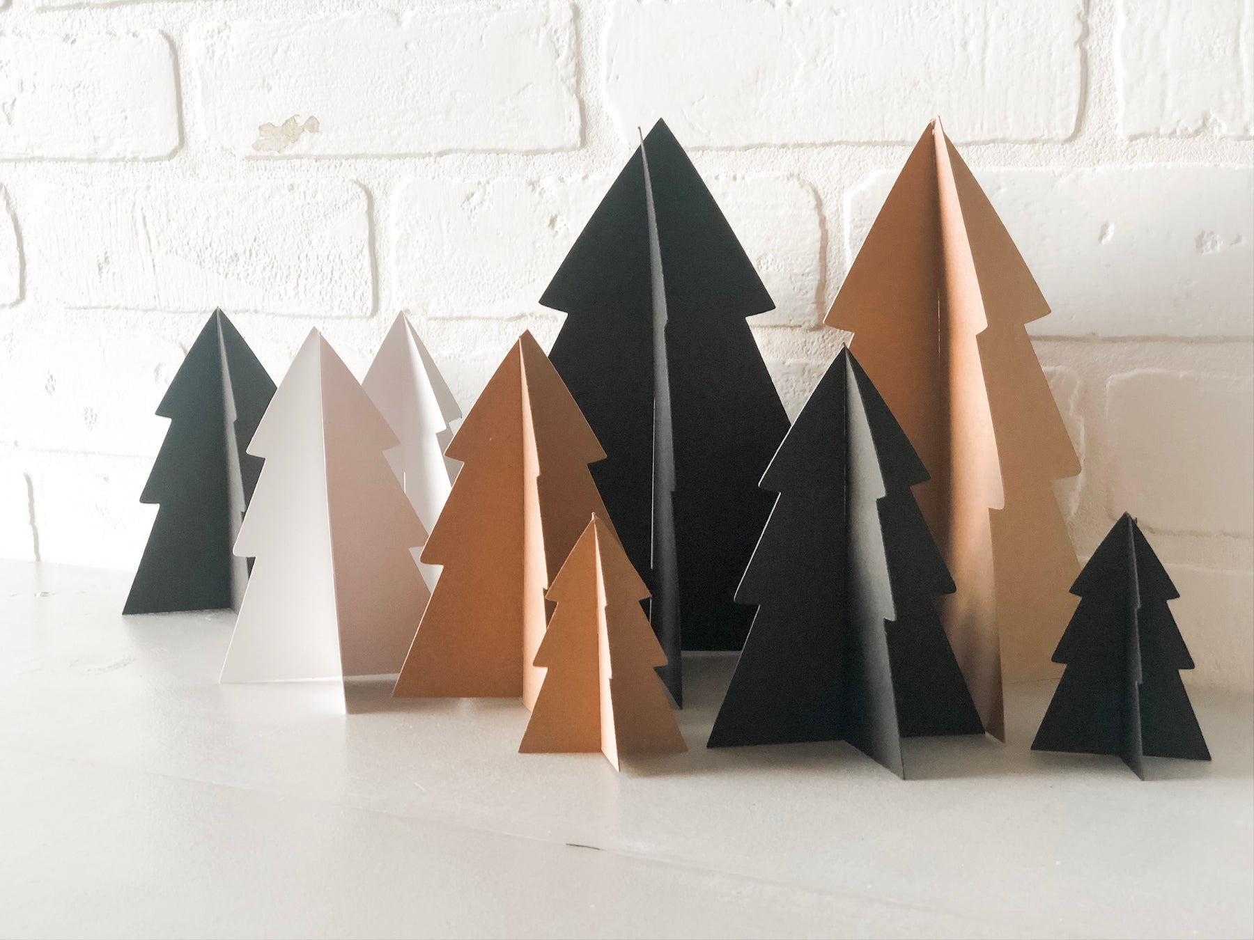 Paper Christmas Trees with Cricut Explore Air 2