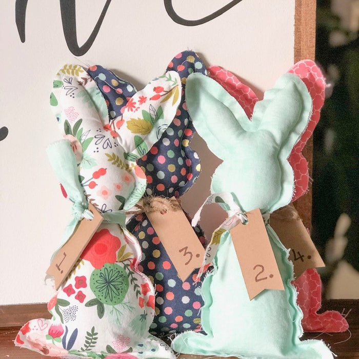 DIY Fabric Bunnies using a Cricut Maker