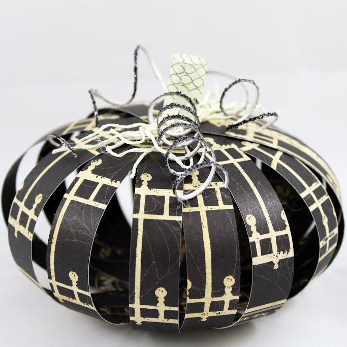 Scrap Paper Pumpkin Projects