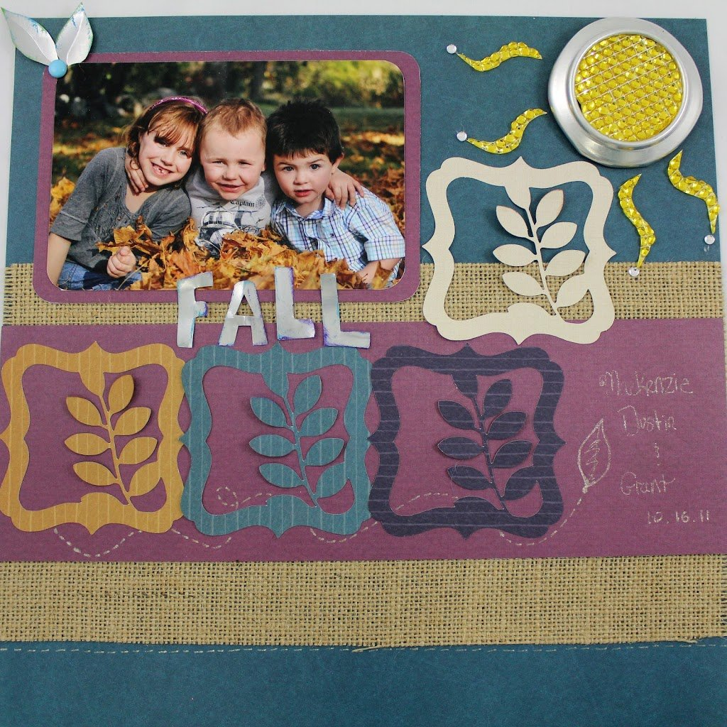 Cropped Mystery Challenge Winning Scrapbook Layouts