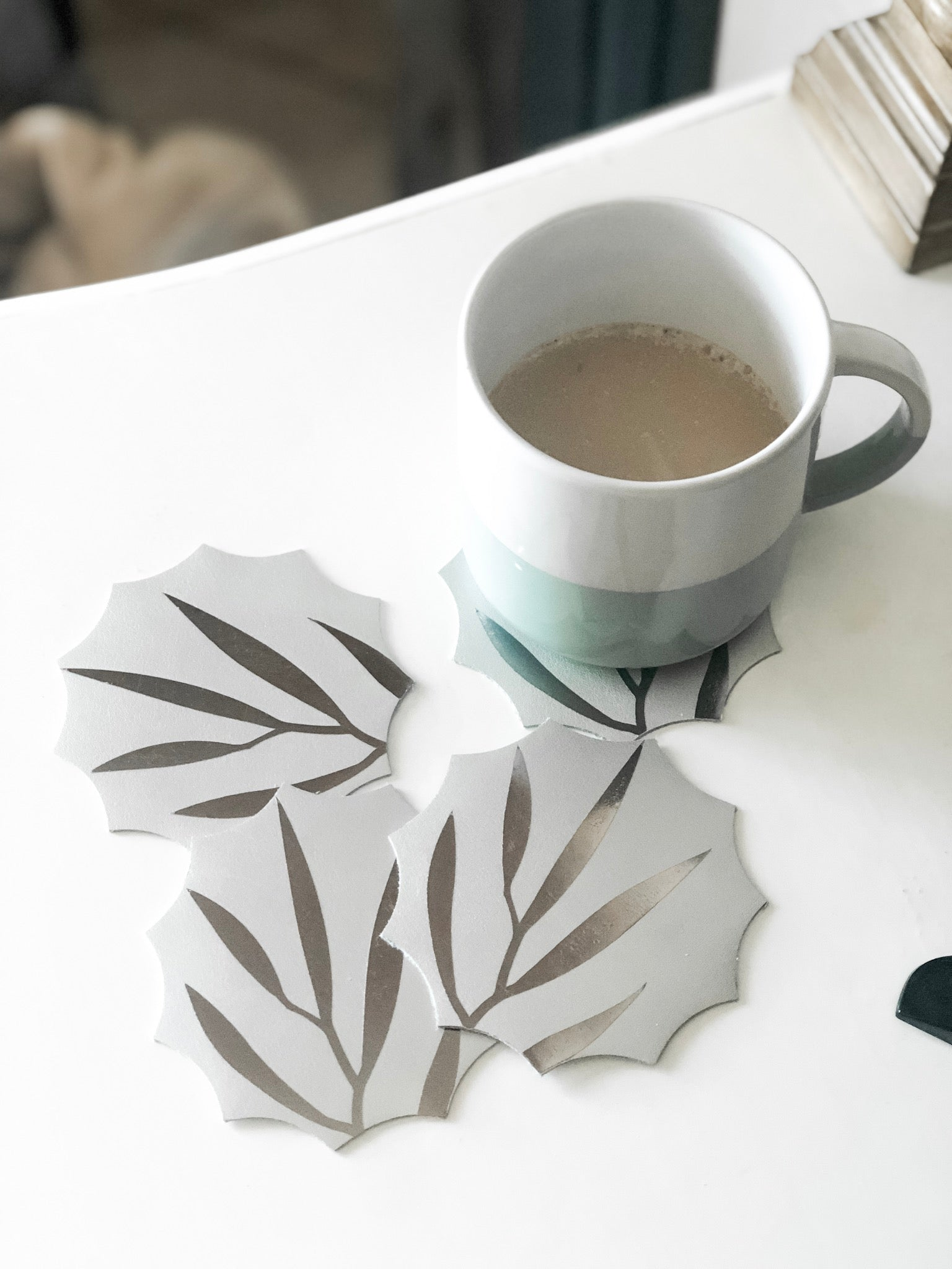 DIY Leather Coasters with a Cricut