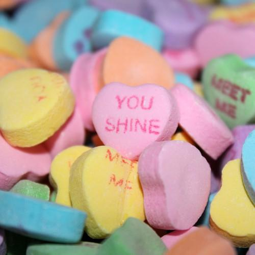 Let's Have A Valentine's Conversation Candy Heart-To-Heart!