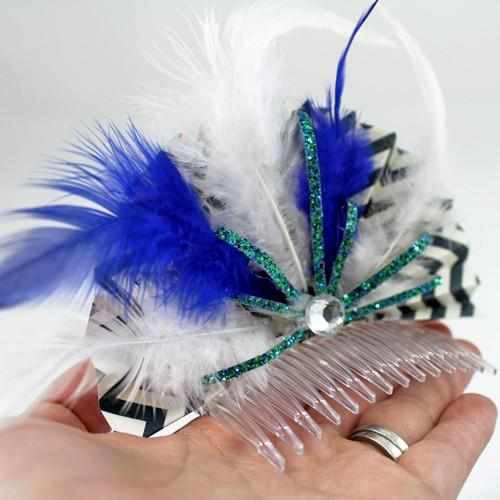 10 Minute Fun & Feathery New Years Project Tutorial