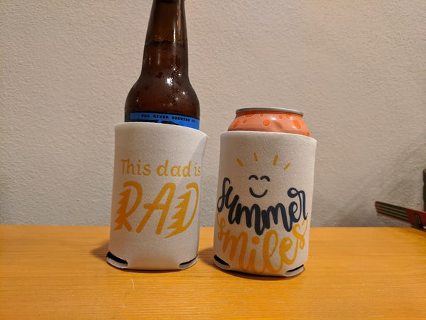 How to Use Cricut Infusible Ink to Create Custom Can Koozies