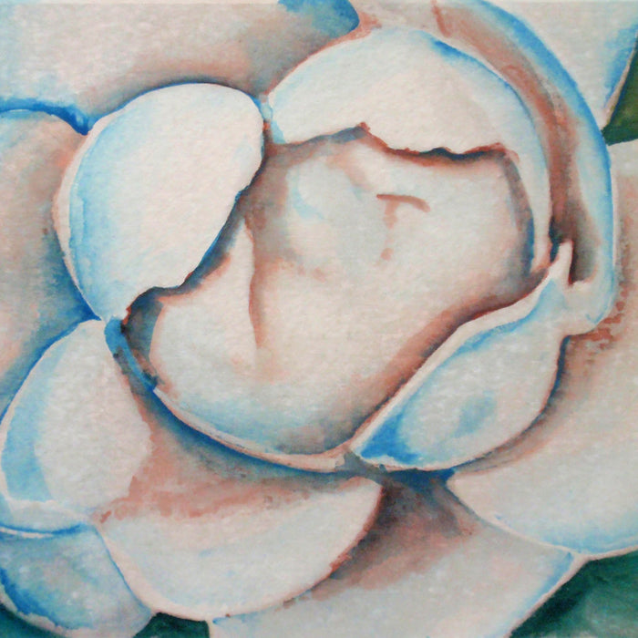 Nature Close-Ups: Easy Watercolor Paint Project using Flower Photos