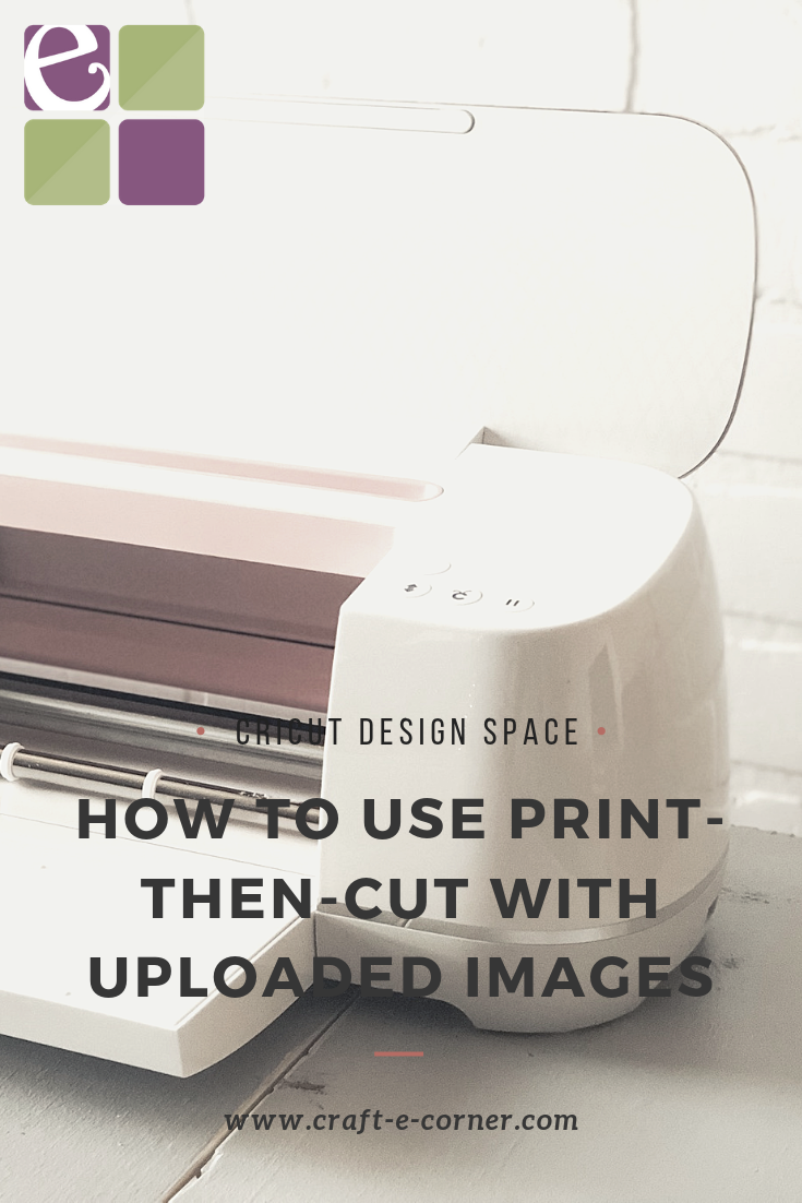 How to Use Print then Cut When Uploading an Image in Design Space