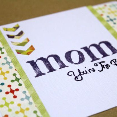 Crafting Tip & Trick: Adding Arrows + Mother's Day Card Tutorial.