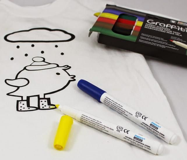 DIY Silhouette Heat Transfer Vinyl Kids Coloring Book Shirts for Spring, Easter or Birthdays!